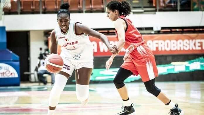 Afrobasket féminin : l'Égypte pulvérise la Guinée, 102-58